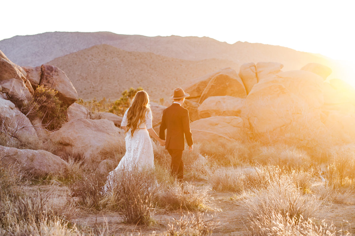 Bohemian Joshua Tree Vow Renewal Allie Dearie Photography13