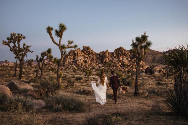 Bohemian Joshua Tree Vow Renewal Allie Dearie Photography17