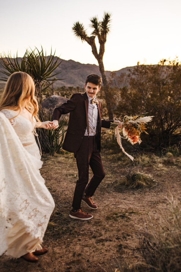 Bohemian Joshua Tree Vow Renewal Allie Dearie Photography18
