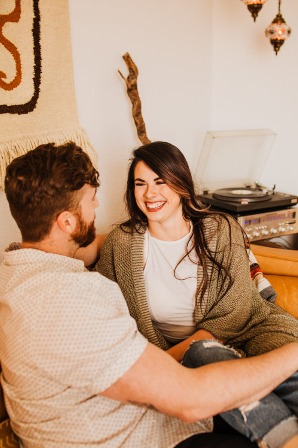 Intimate Musical In-Home Couple's Session Allie Dearie Photography03