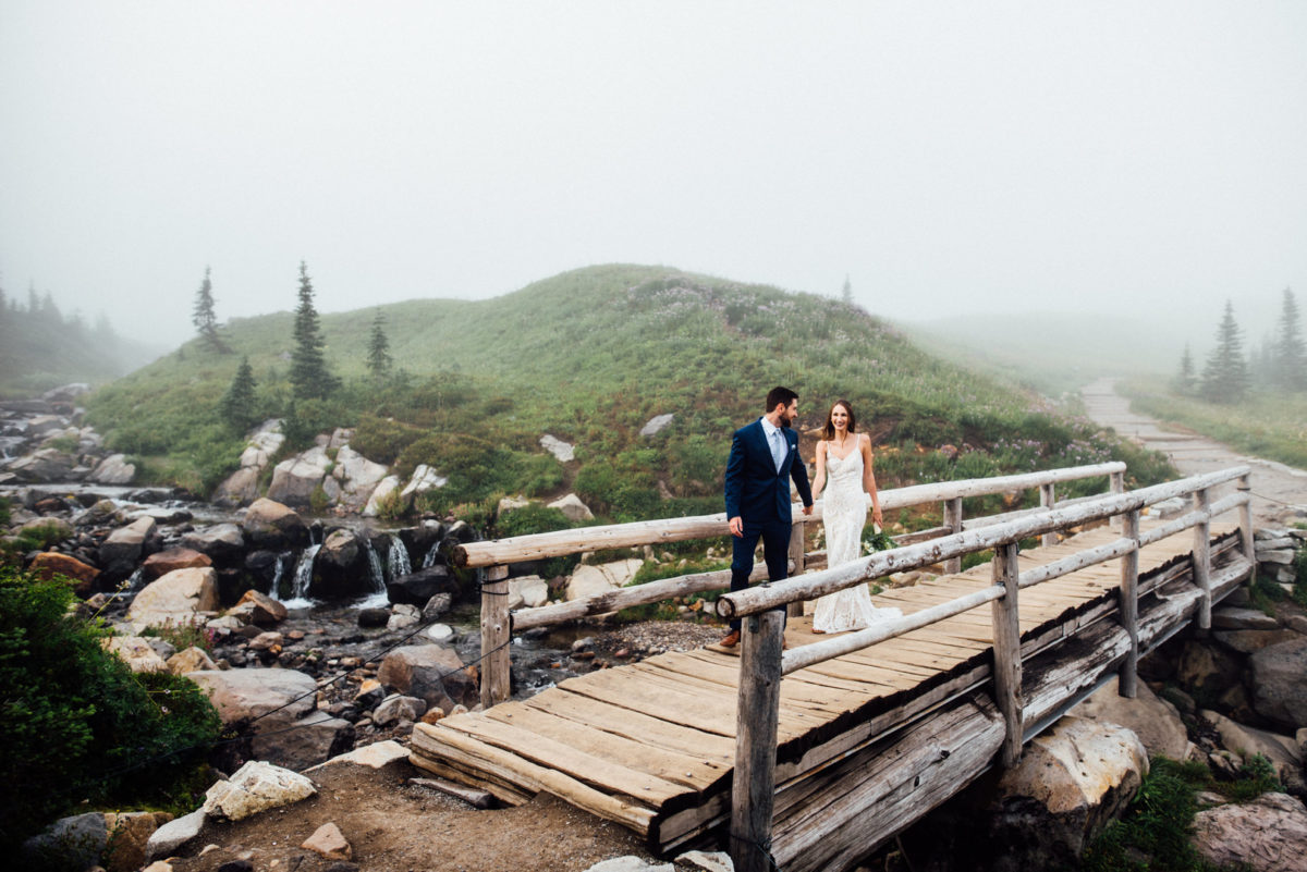 Misty Intimate Elopement at Mount Rainier Rebecca Anne Photography11