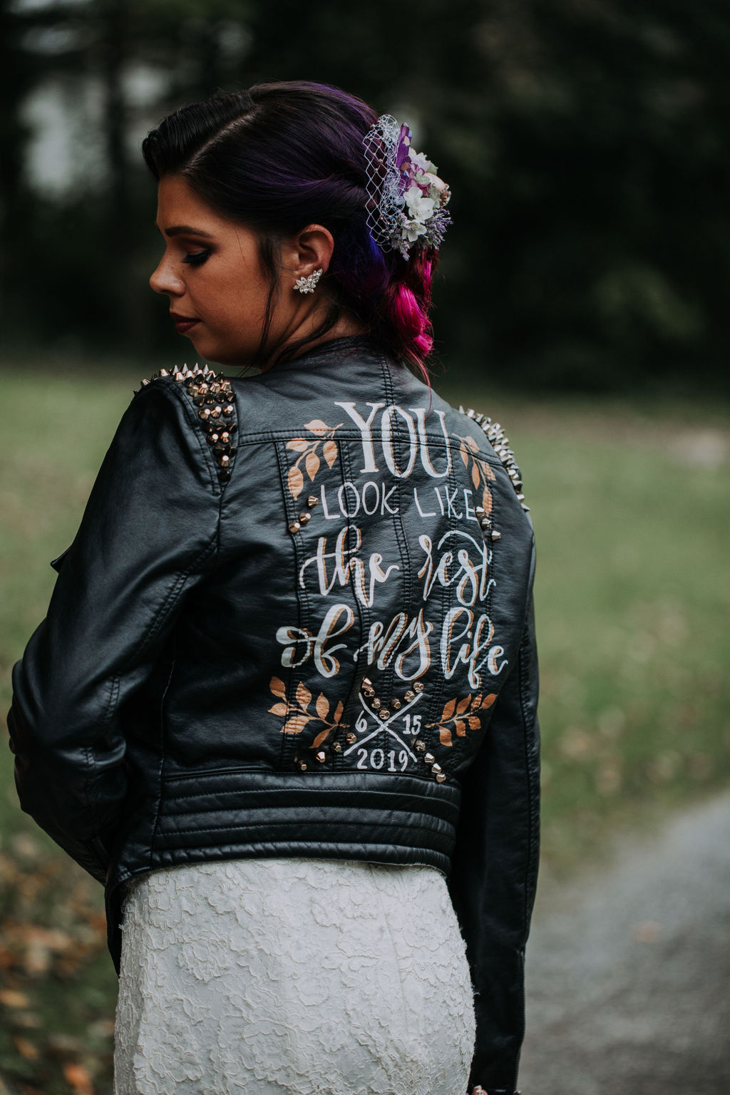 Moody and Edgy Vow Renewal Inspiration Mindy Hulett Photo03