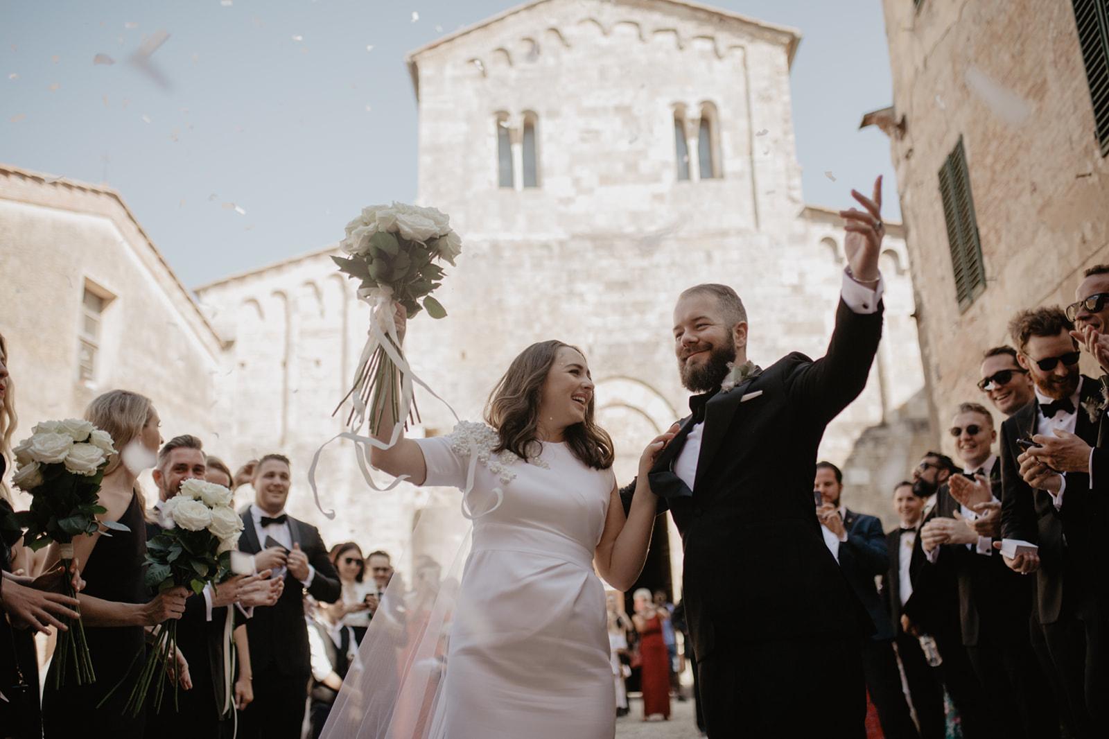 Renee & James | Wedding at Borgo Stomennano, Tuscany